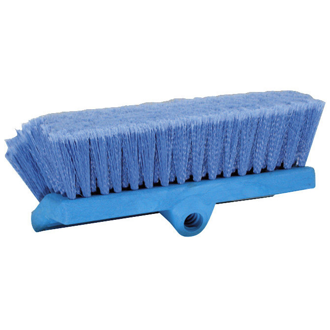 Soft Bi-Level Flow-Thru Brush